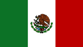 Mexico flag Stock Image