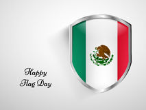 Mexico Flag Day background. Illustration of Mexico Flag for Mexico Flag Day Stock Images