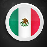 Mexico Flag Day background. Illustration of Mexico Flag for Mexico Flag Day Royalty Free Stock Photo