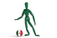 Mexico fotboll Arkivfoto