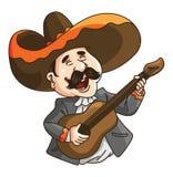 Mexico Guitar man Royalty Free Stock Photos