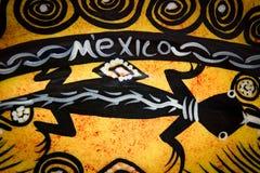 Mexico handcraft. Mexico yellow handcraft Stock Photo