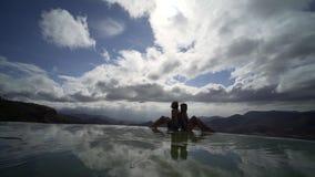 Mexico Hierve el Agua; stock footage