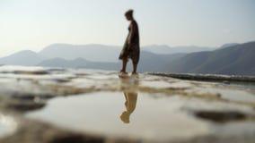 Mexico Hierve el Agua; stock video footage