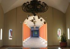 Mexico Iberostar Paraiso Lindo shopping center. Mexico Riviera Maya Iberostar Lindo hallway Royalty Free Stock Image