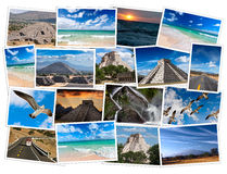 Mexico images collage Royalty Free Stock Image