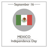 Mexico Independence Day, September 16 Stock Photos