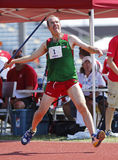 Mexico Man Javelin Throw Stock Photos