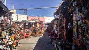 Mexico marknadsplats arkivbild