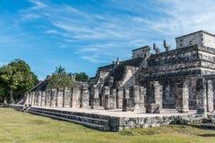 Mexico maya yucatan Chichen Itza old ruins  Stock Image