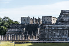 Mexico maya yucatan Chichen Itza old ruins Royalty Free Stock Image