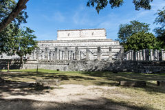 Mexico maya yucatan Chichen Itza old ruins Stock Photography