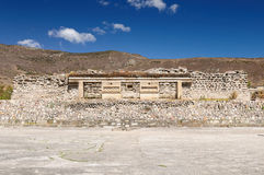 Mitla Mayan ruins in Mexico Stock Photography