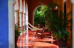 Mexico Merida hacienda finca rancho san jose Royalty Free Stock Image