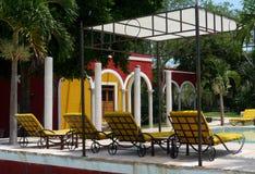 Mexico Merida hacienda hotel Ticum spa holiday Stock Photos