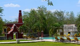 Mexico Merida hacienda hotel Ticum spa holiday Stock Photography