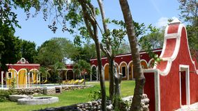Mexico Merida hacienda hotel Ticum spa holiday Royalty Free Stock Photos
