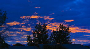 mexico ny over soluppgång Arkivfoto