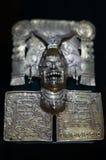 Mexico Oaxaca Santo Domingo monastery museum zapotec jewelry. Silver Royalty Free Stock Photos