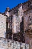 Mexico Oaxaca Santo Domingo monastery wall detail. With sky Royalty Free Stock Photo