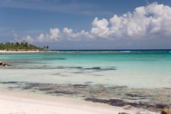 Mexico ocean. Beach sky water Royalty Free Stock Photos