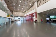 MEXICO - OCTOBER 27, 2017: Mexico City International Airport. Benito Juarez Airport. Departure Area. Mexico City International Airport. Benito Juarez Airport Stock Image