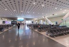 MEXICO - OCTOBER 27, 2017: Mexico City International Airport. Benito Juarez Airport. Departure Area. Mexico City International Airport. Benito Juarez Airport Royalty Free Stock Photos