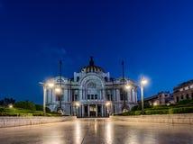 MEXICO - OKTOBER 19, 2017: Mexico - stad och slott av moderna konster Det är den framstående kulturella mitten i Mexico - stad Royaltyfria Foton