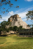 Mexico, Palenque, Mayan Pyramid, Stock Photography