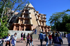 Mexico Pavilion at Epcot stock image