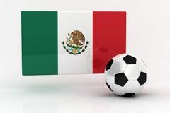 mexico piłka nożna Zdjęcie Royalty Free