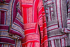 Mexico ponchos Stock Images