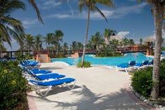 Mexico pool royalty free stock photo