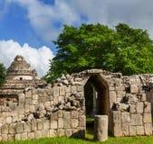 mexico pyramid Arkivbild