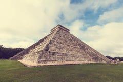 mexico pyramid Arkivfoton