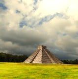 mexico pyramid Royaltyfri Fotografi