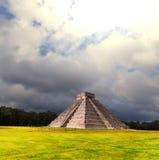 mexico pyramid Arkivfoto