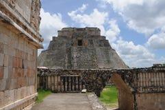 Mexico - Pyramid of Uxmal Royalty Free Stock Image