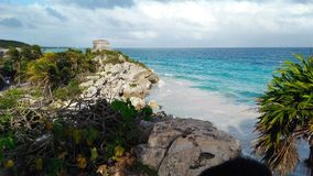 Tulum Mexico stock photo
