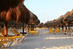 Mexico riviera maya iberostar lindo beach Royalty Free Stock Photography