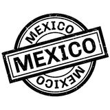 Mexico rubber stamp Royalty Free Stock Photography