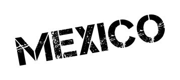 Mexico rubber stamp Royalty Free Stock Photo
