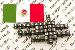 Mexico& x27; s Economie royalty-vrije stock foto