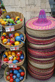 mexico shoppar souvenir Royaltyfri Foto
