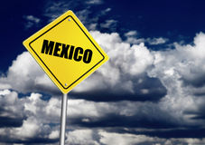 Mexico sign Royalty Free Stock Photo