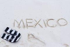 Mexico sign Royalty Free Stock Photos