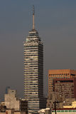 Mexico sky tower. In mexico city, america Royalty Free Stock Images