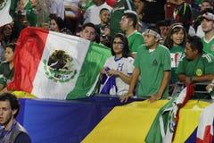 Mexico soccer fans Stock Photo