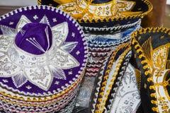 Mexico.   Souvenir bench. Royalty Free Stock Photos
