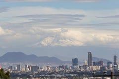 Mexico - stad Royaltyfri Foto